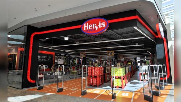 Hervis hat die Filiale Nummer 11 in Deutschland eröffnet.