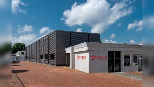 Neues Firmengebäude von Mo-Tech in Wijchen bei Nimwegen