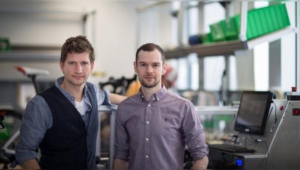 Johannes Biechele (links) und Fabian Reuter  -  Foto: Fazua