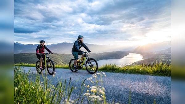 Traumhaftes E-Bike-Revier am Millstaetter See