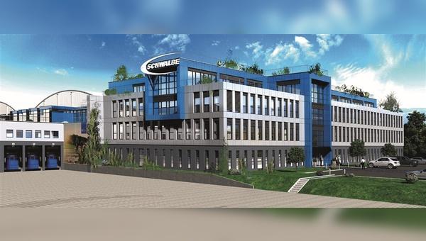 Schwalbe investiert weiter am Firmensitz in Reichshof.