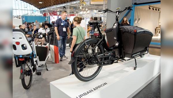 Lastenräder stehen auch auf der Spezialausgabe der Eurobike im Fokus