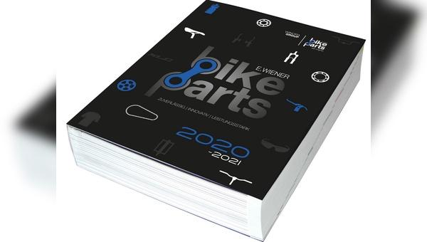 5,3 Kilogramm wiegt der neue Katalog von E. Wiener Bike Parts