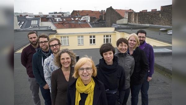 Ulrike Saade (vorne) - Frontfrau des neunköpfigen Teams von Velokonzept.