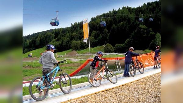 Der Ausflug in den Bikepark wird immer mehr auch zum Familienerlebnis.