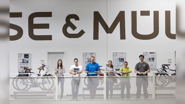 Neue Nachwuchskräfte bei Riese & Müller