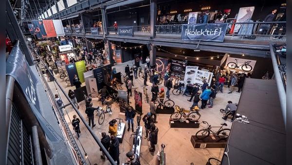 Das Berliner Motorwerk beheimatet die Fahrradmesse Kolektif