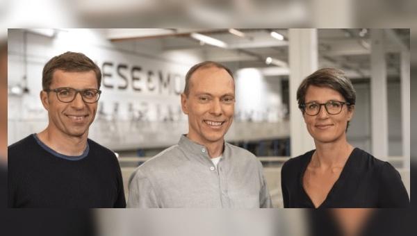 Heiko Müller, Markus Riese und Dr. Sandra Wolf