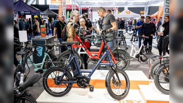 Auf der CMT in Stuttgart hat auch das Thema Fahrrad einen Auftritt.