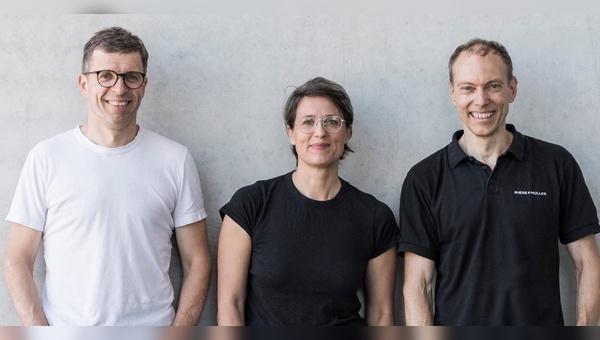 Die Geschäftsführung von Riese und Müller: v.l.: Heiko Müller, Sandra Wolf, Markus Riese
