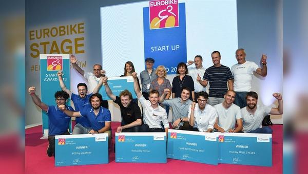 Große Freude bei den Gewinnern der Start-Up Awards