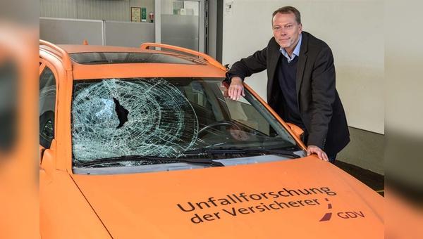 Brockmann forscht, damit der Verkehr sicherer werden kann.