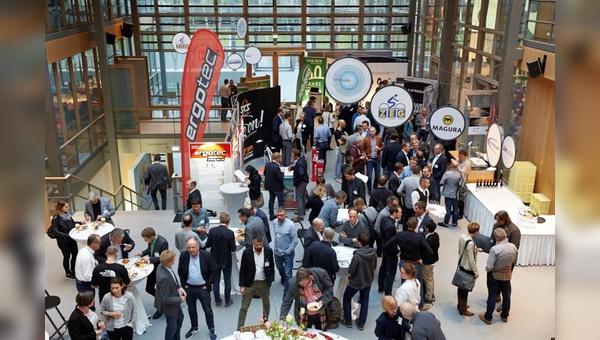 Vertreter der Fahrradbranche treffen in entspanntem Rahmen auf die Politik