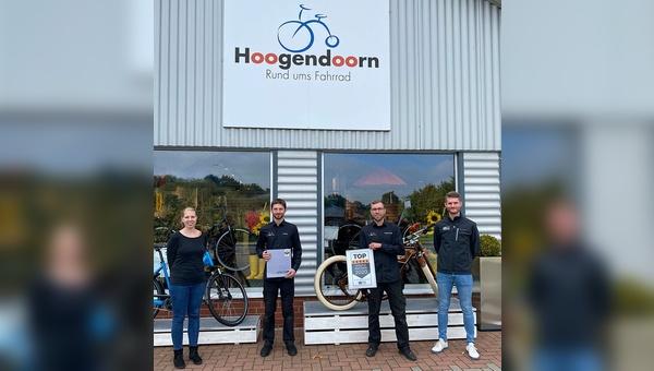 v.l.n.r.: Stefanie Hoogendoorn, Kelvin Buß, Sebastian Kortmann, Arne Ehlenbröker / BICO Zweirad Marketing GmbH