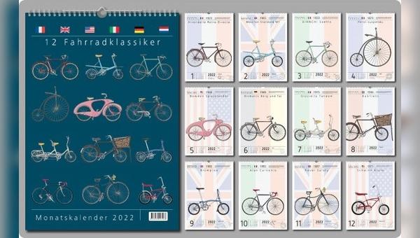 Neuer Kalender aus der Feder des Zeichners.