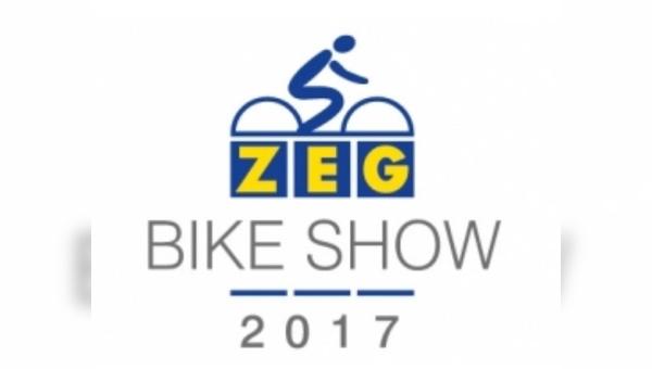 Auf der ZEG Bike Show wurde Vodafon als Kooperationspartner präsentiert.