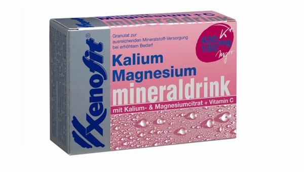 Mineraldrink Kalium und Magnesium