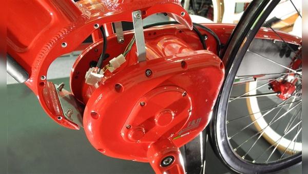 Getriebe, Motor und Antriebskette werden bei Neox in einem gekapselten System untergebracht.