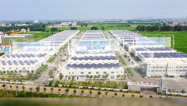 Die Produktionskapazitaeten in China wurde stark ausgebaut.