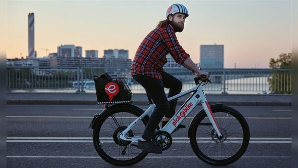 In Basel gibt es seit Mitte Mai mit Pick-e-Bike eine stationslose E-Bike-Sharingflotte.