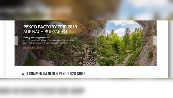 Pexco B2B-Shop