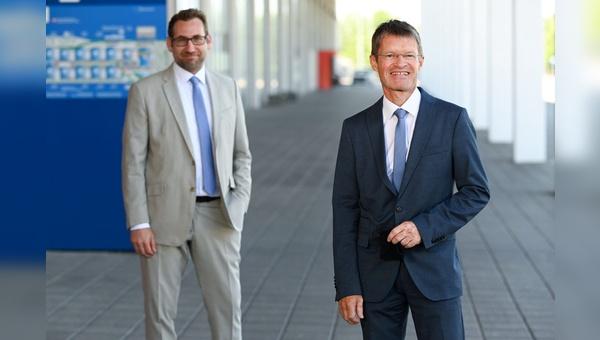 Finanzchef Stefan Mittag (links) und Messechef Klaus Wellmann