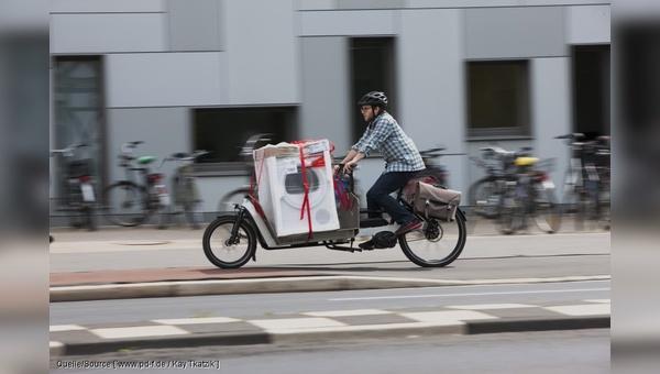 Lastenräder haben enormes Potenzial