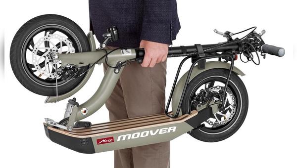Der Metz Moover - ein faltbarer E-Tretroller.