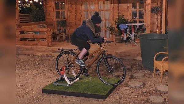 Bambusräder sorgen für Schweißperlen bei Big Brother.
