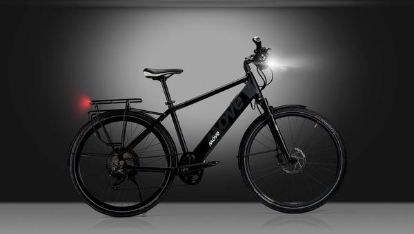 Das E Fly Up ist das Topmodell im Sortiment von Möve Bikes