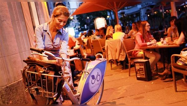 Leihfahrräder gehören zum Stadtbild in vielen Großstädten