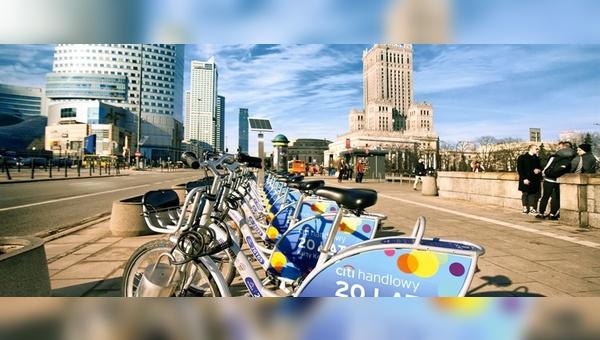 Nextbike investiert in den Marktauftritt in Polen.