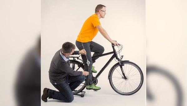 Ergonomie beim Radfahren - ein Themenschwerpunkt des neuen Portals