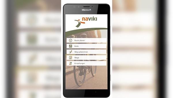 Fahrradnavigation auf dem Smartphone