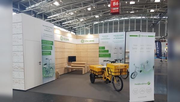 Die Kooperation mit Pendix wurde auf der IAA Mobility vorgestellt.