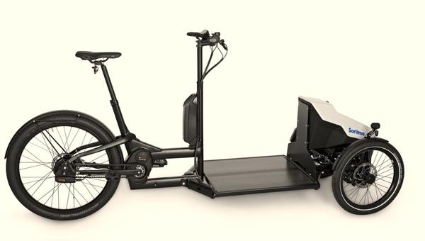 Das neue Lastenrad ProCargo CT1 von Sortimo