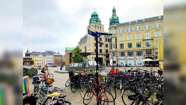 Das Fahrrad ist ein wichtiges Transportmittel in Kopenhagen.