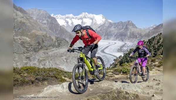 Dank Motorunterstützung erweitern sich die Möglichkeiten beim Biken in den Bergen.