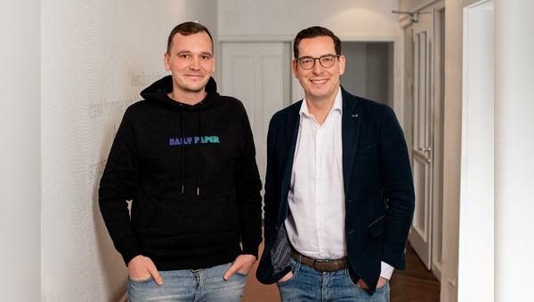 vl.: Friedemann Vieweger und Dr. Domiik Benner