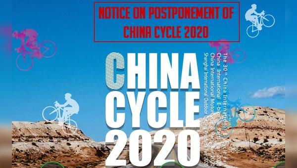 Die Fahrradmesse wird auf einen späteren Zeitpunkt verschoben.