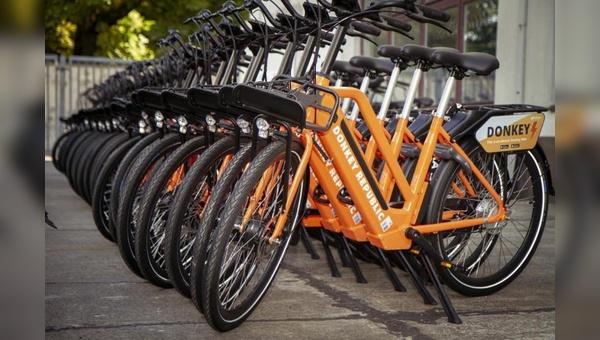 Donkey Republic erweitert E-Bike-Flotte