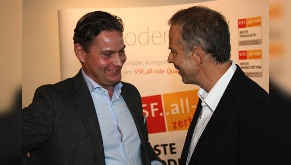 Albert Herresthal mit Stefan Zierke