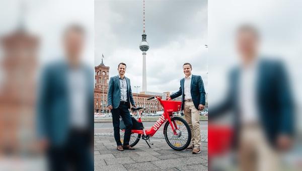Pedelec-Verleih-Anbieter Jump legt in Berlin los.