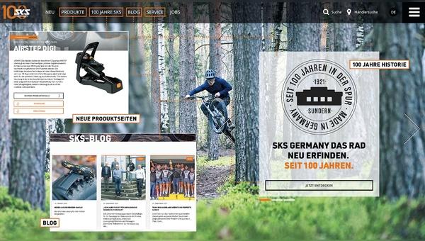 Neu gestaltet: www.sks-germany.com