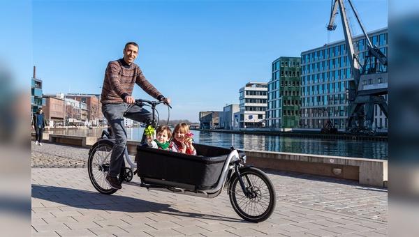 Die Stadt Münster hat die Anschaffung von Lastenrädern und Fahrradanhängern subventioniert.