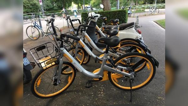 Die O-bikes verschwinden wieder aus den Städten