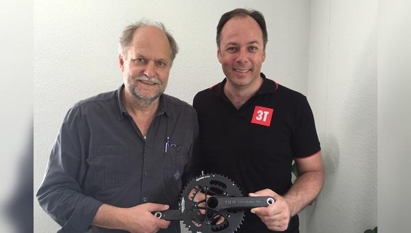 Thomas Mertin (rechts) und Rene Wiertz haben gemeinsame Pläne
