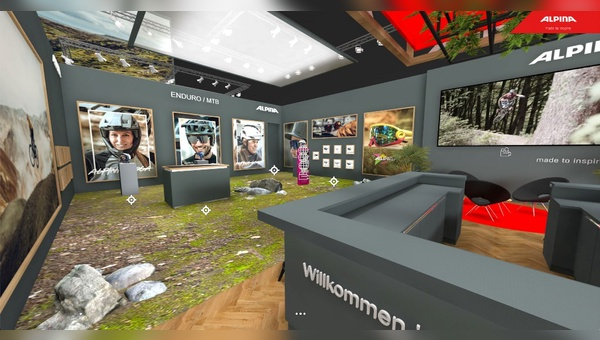 Virtuelle Messestand