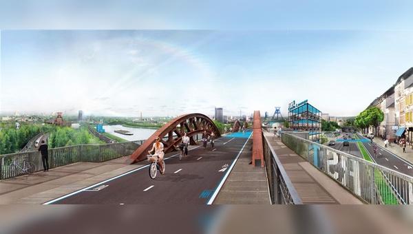Mit dem RS1 leistet Nordrhein-Westfalen Pionierarbeit bei der Umsetzung überregionaler Radschnellwege.