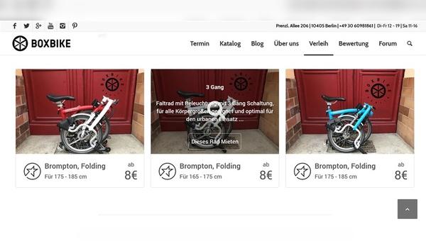 Bike-Sharing-Plattform Listnride und Fachhändler Boxbike